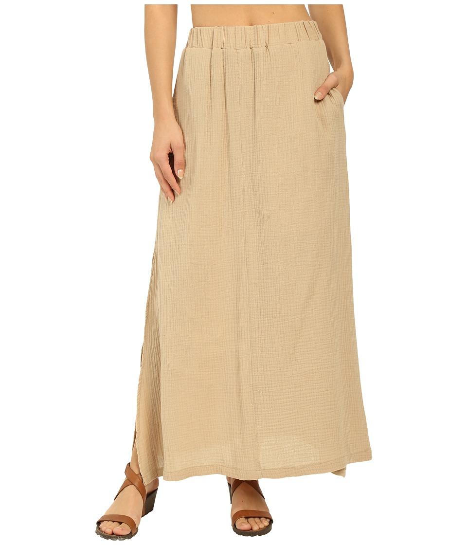 United By Blue - Sadie Maxi Skirt (Tan) Women's Skirt