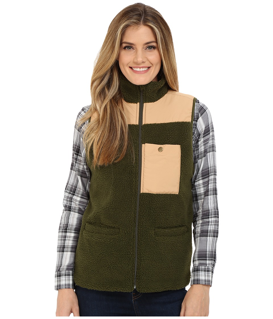 United By Blue - Juno Fleece Vest (Green) Women's Vest