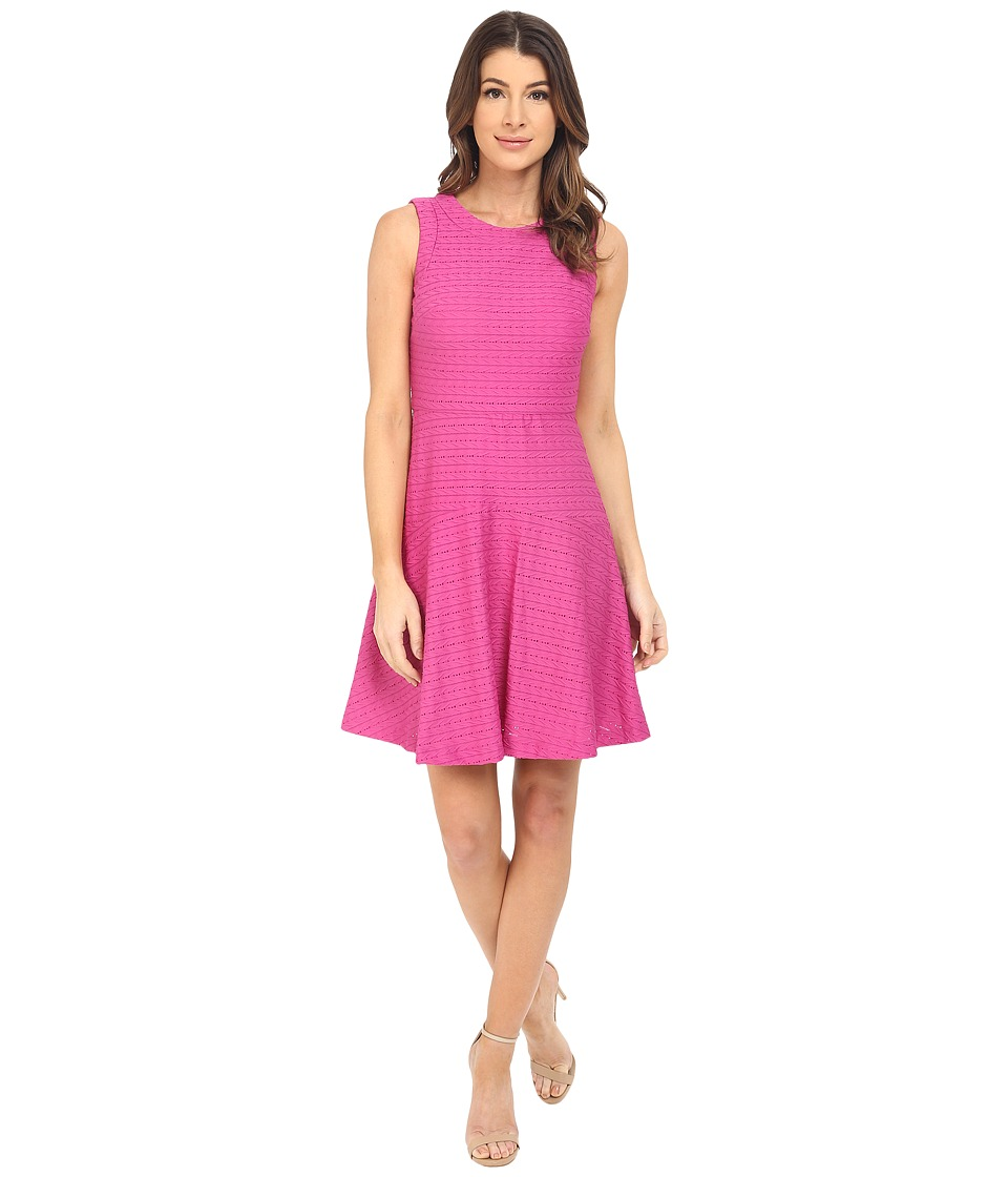 Donna Morgan - Sleeveless Knit Fit and Flare (Flux) Women's Dress