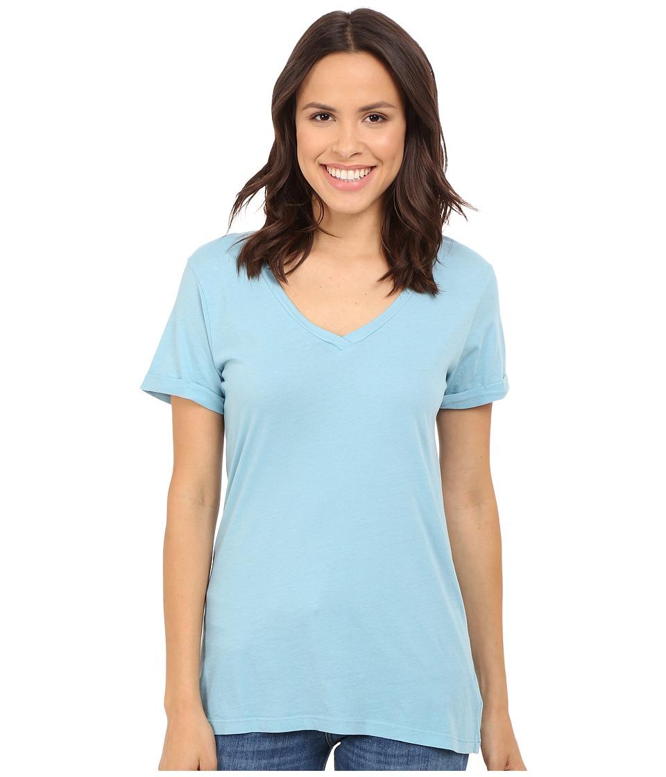 LAmade - Staple V S/S Tee (Amalfi Blue) Women's T Shirt