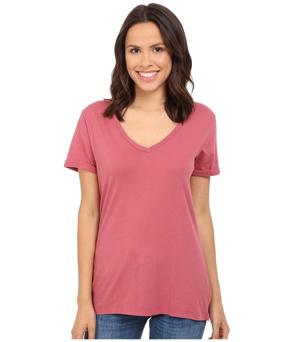 LAmade - Staple V S/S Tee (Sienna Rose) Women's T Shirt