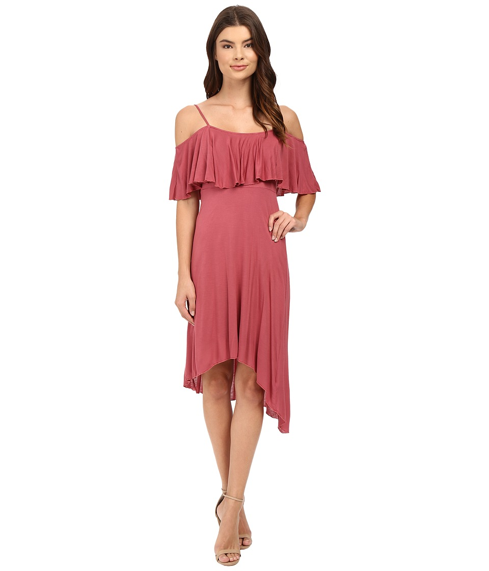LAmade - Luna Off the Shoulder Dress (Sienna Rose) Women's Dress