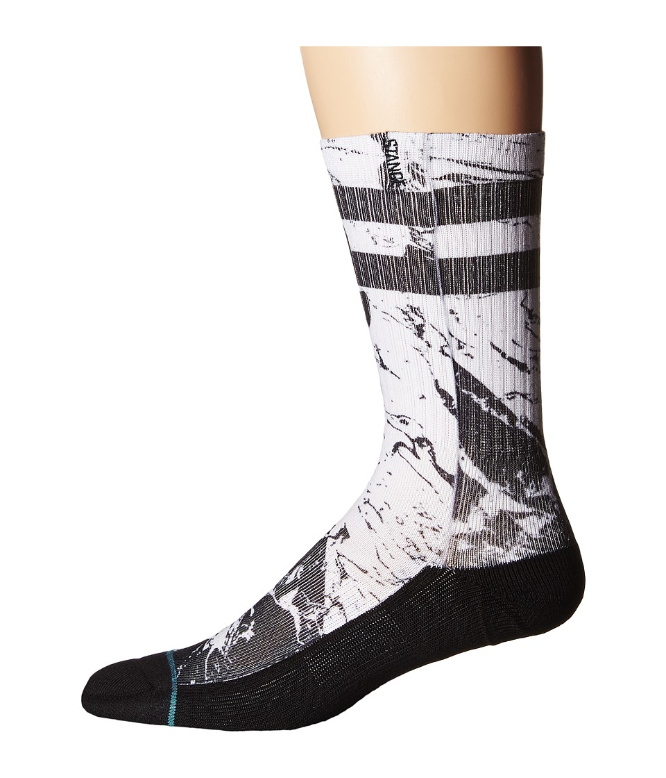 Stance - Granite (Black) Men's Crew Cut Socks Shoes