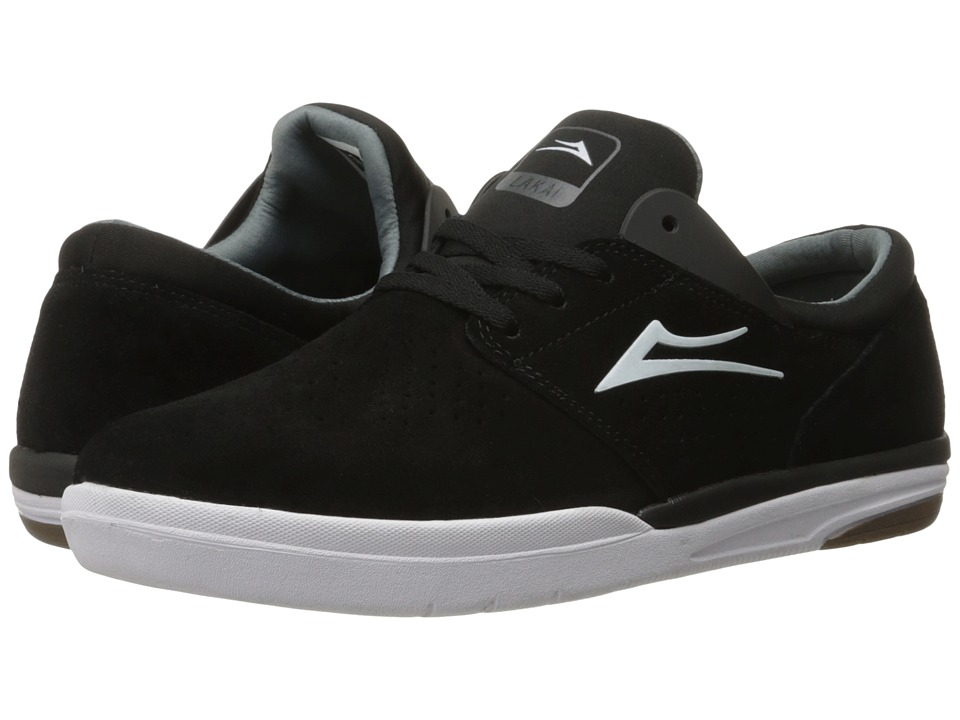 Lakai - Fremont (Black Suede) Men's Skate Shoes