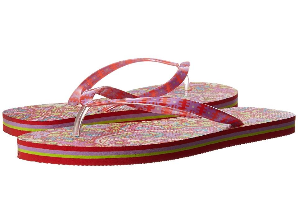Vera Bradley - Flip Flops (Paisley in Paradise) Women's Slippers