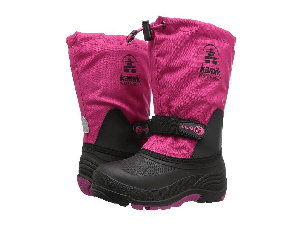 Kamik Kids Waterbug5 (Toddler/Little Kid/Big Kid) (Rose) Girls Shoes