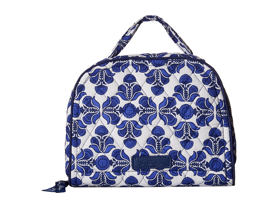 Vera Bradley - Travel Jewelry Organizer (Cobalt Tile) Travel Pouch
