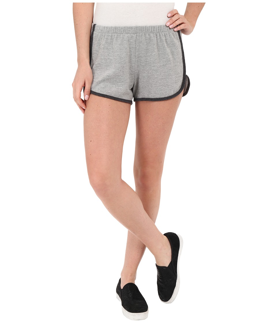 Project Social T - Farrah Dolphin Shorts (Heather Grey/Heather Charcoal) Women's Shorts