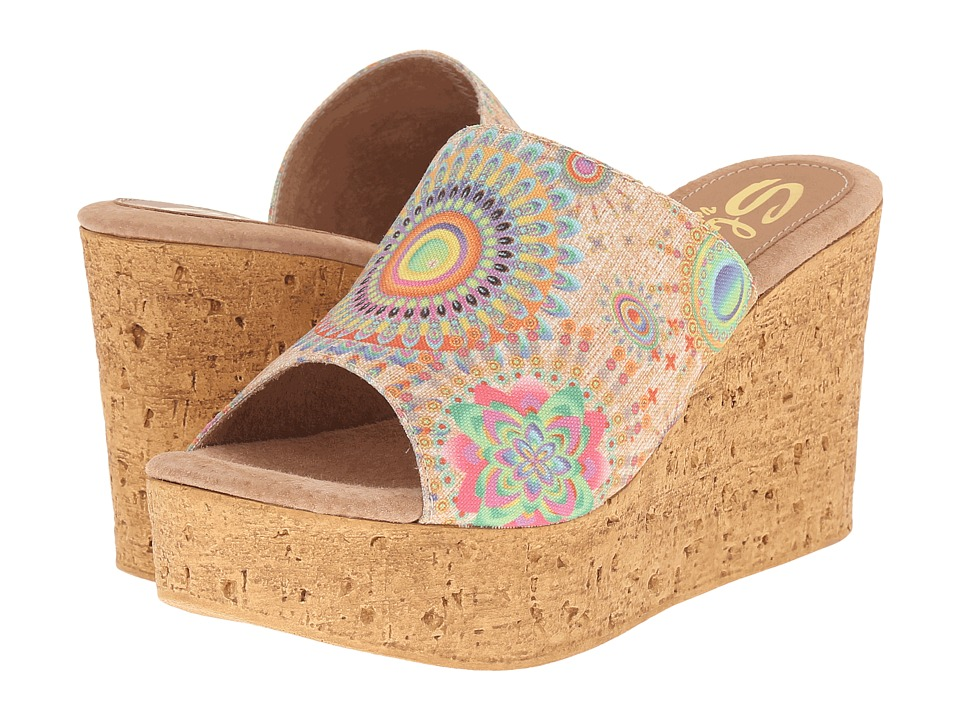 Sbicca Starboard (Natural Multi) Women