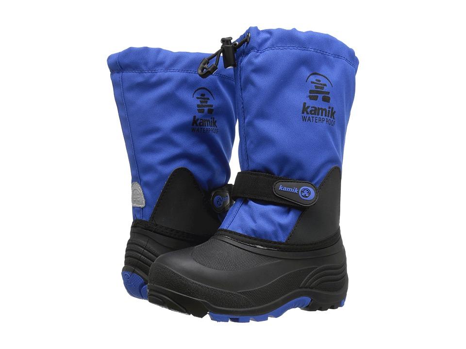 Kamik Kids - Waterbug5 Wide (Toddler/Little Kid/Big Kid) (Blue) Kids Shoes