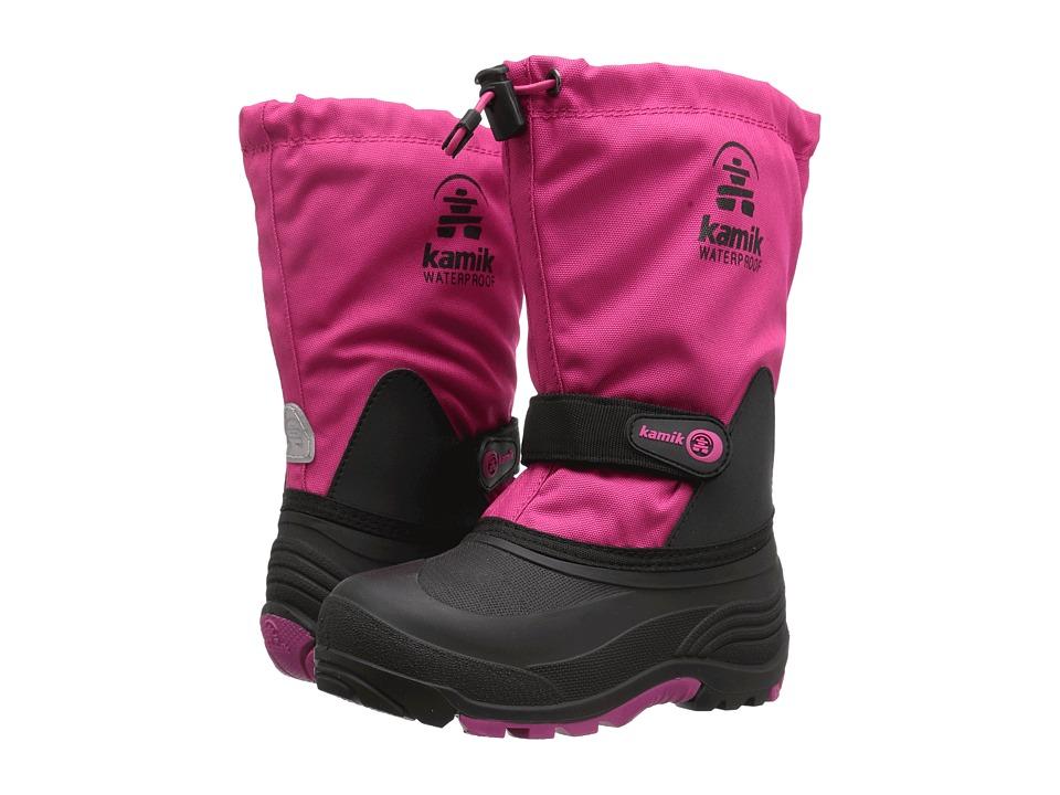 Kamik Kids Waterbug5 Wide (Toddler/Little Kid/Big Kid) (Rose) Girls Shoes
