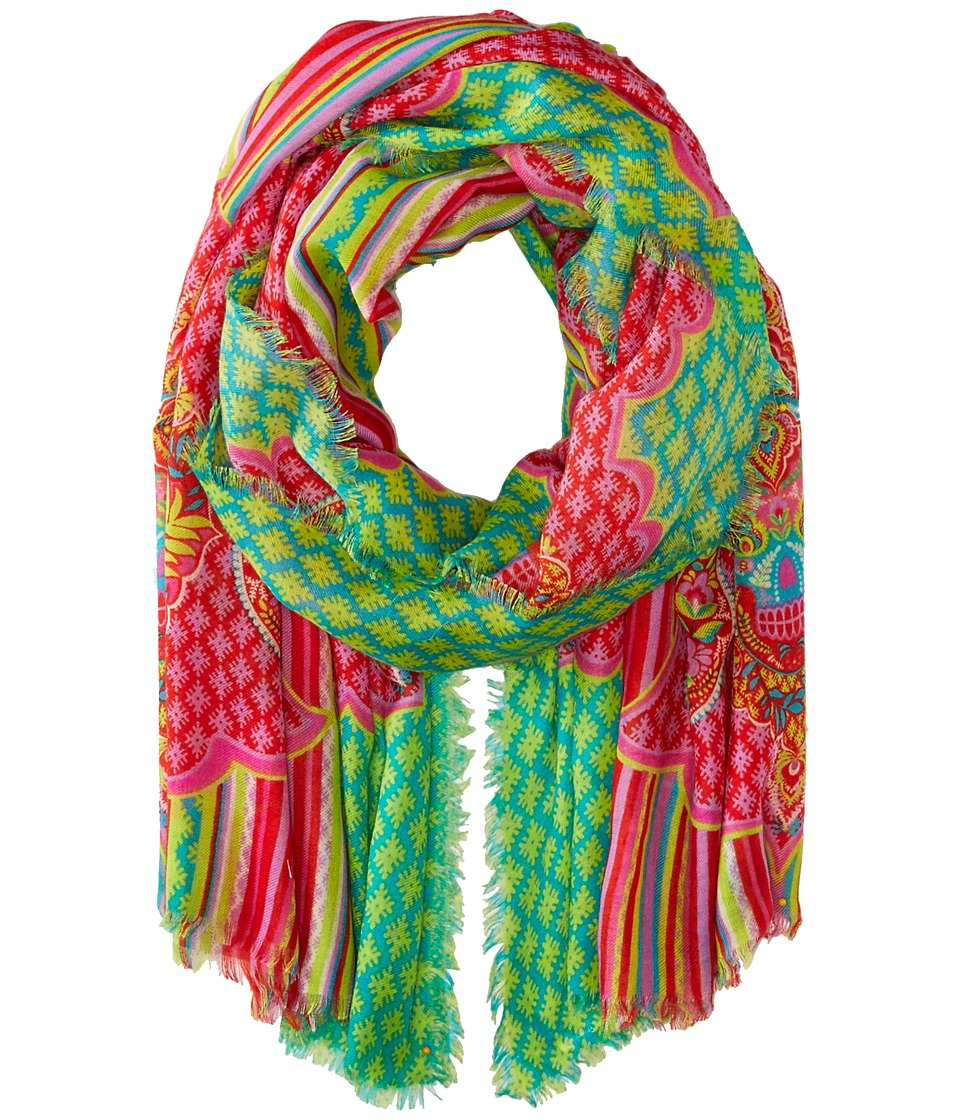 Vera Bradley - Printed Poly Scarf (Paisley in Paradise) Scarves