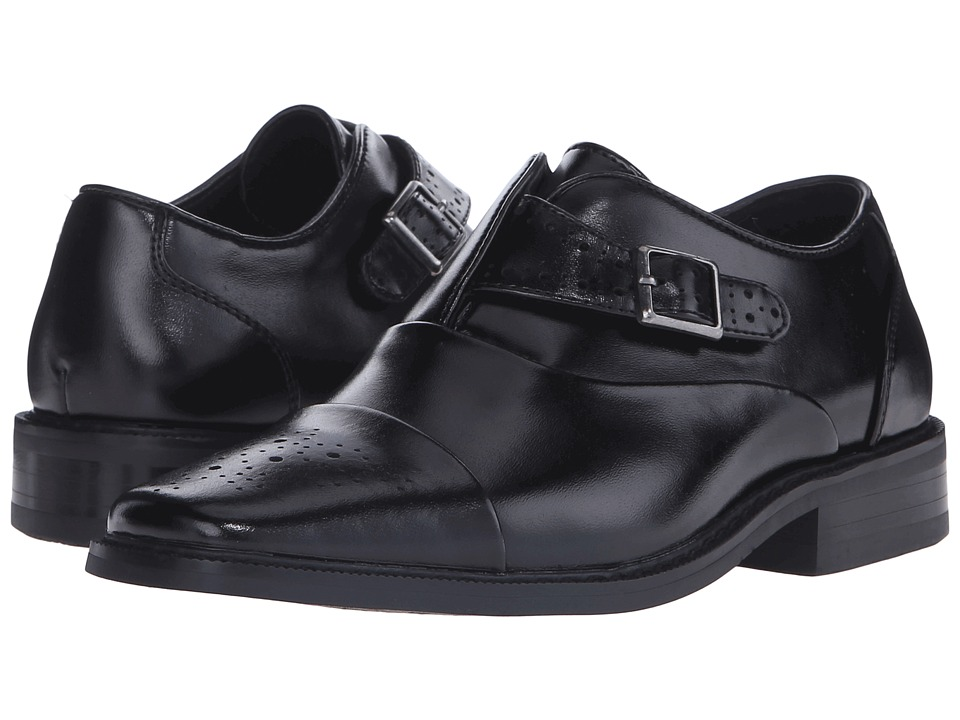 Stacy Adams Kids - Tipton (Little Kid/Big Kid) (Black) Boys Shoes
