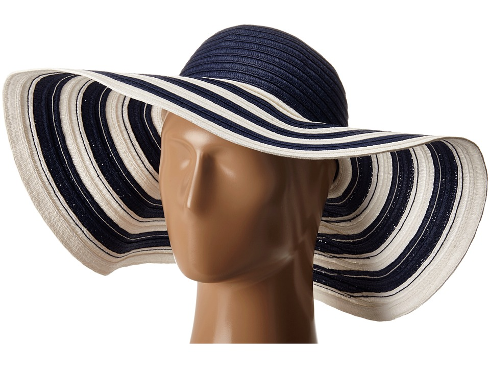 Vera Bradley - Sun Hat (Navy Stripe) Caps