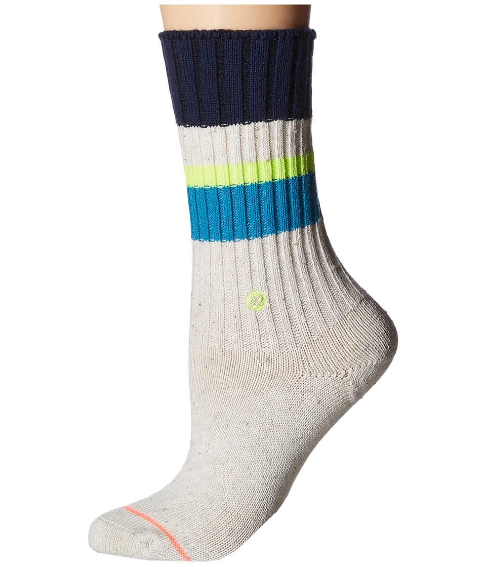 Stance - Basically Basic (Teal) Women's Crew Cut Socks Shoes