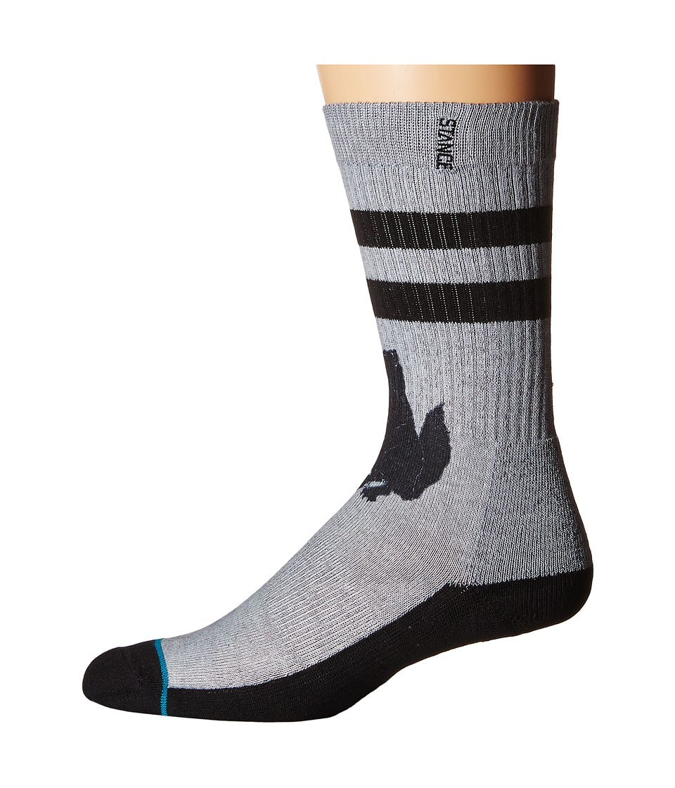 Stance - Deathstalker (Grey) Men's Crew Cut Socks Shoes
