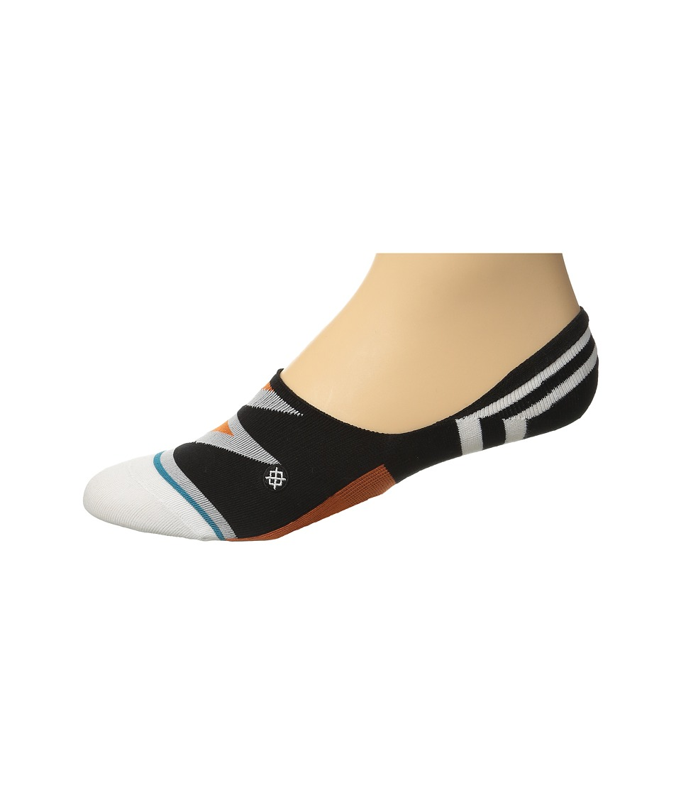 Stance - Hot Like Lava (Black) Men's Crew Cut Socks Shoes