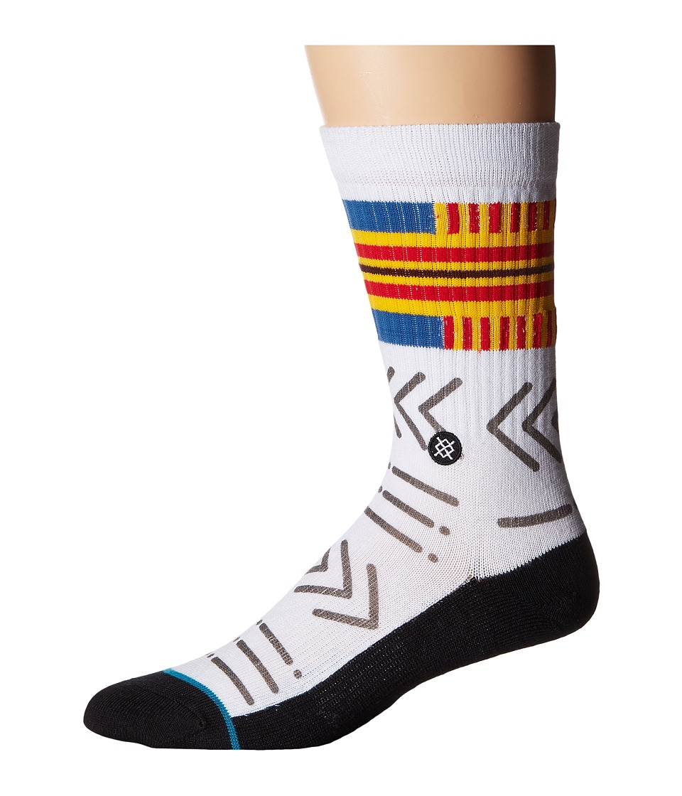 Stance - Petroglyph (Multi) Men's Crew Cut Socks Shoes