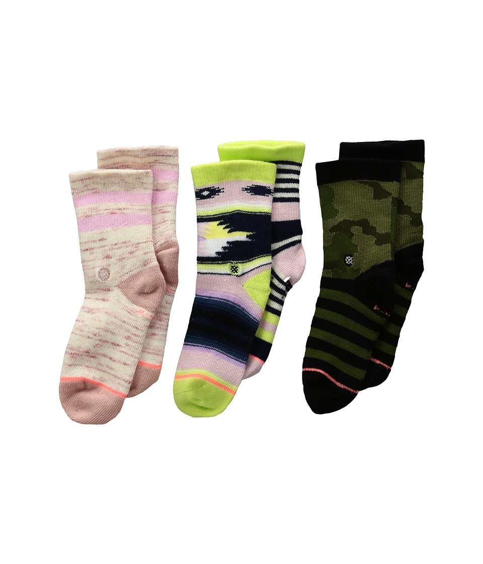 Stance - Senorita Box Set 1 (Infant/Toddler) (Multi) Women's Crew Cut Socks Shoes