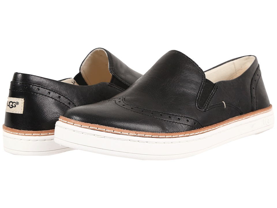 UGG - Hadria (Black) Women's Slip on Shoes