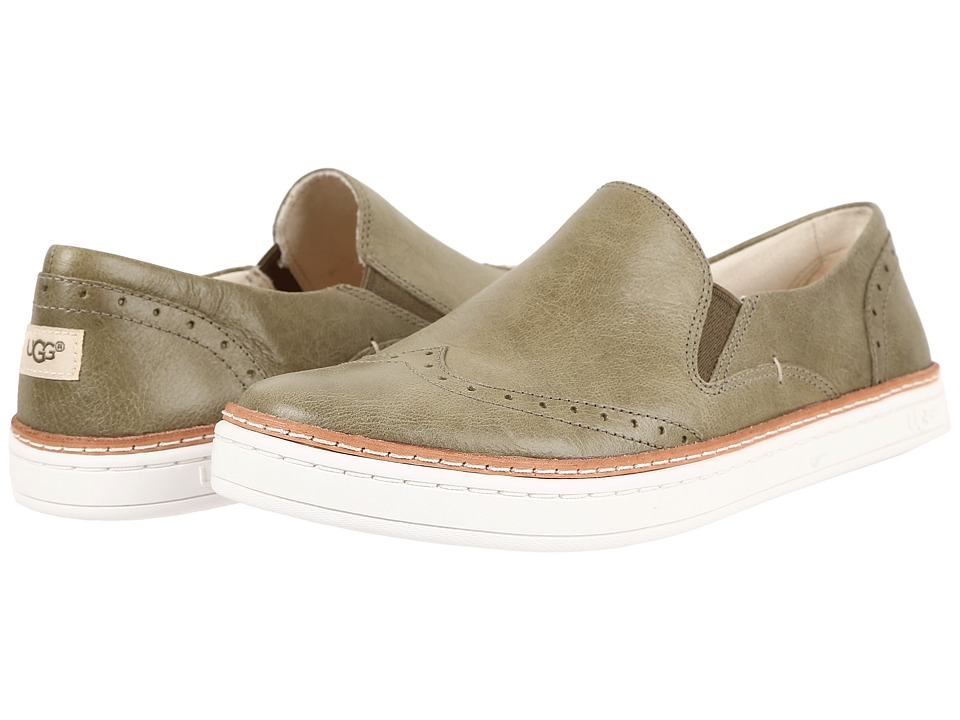 UGG - Hadria (Burnt Olive) Women's Slip on Shoes