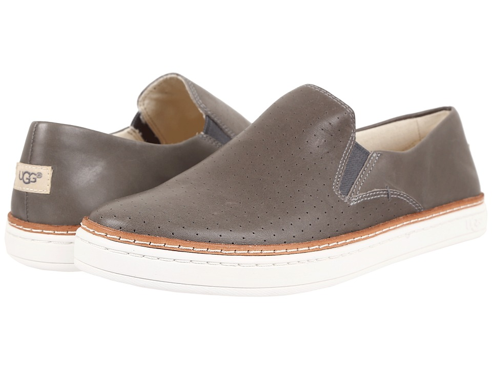 UGG - Keile Perf (Stormy Grey) Women's Slip on Shoes