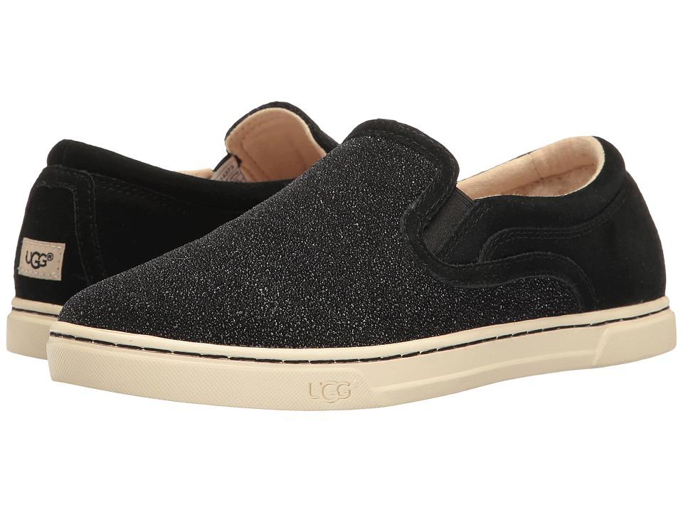 UGG - Fierce Serein (Black) Women's Slip on Shoes