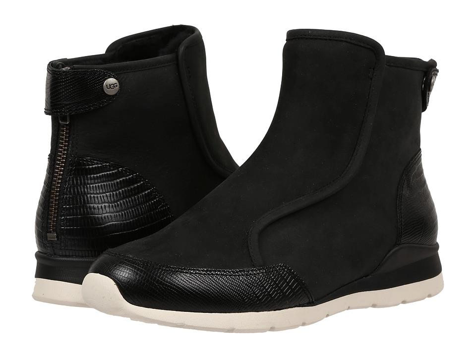 UGG - Laurelle Lizard (Black) Women's Boots