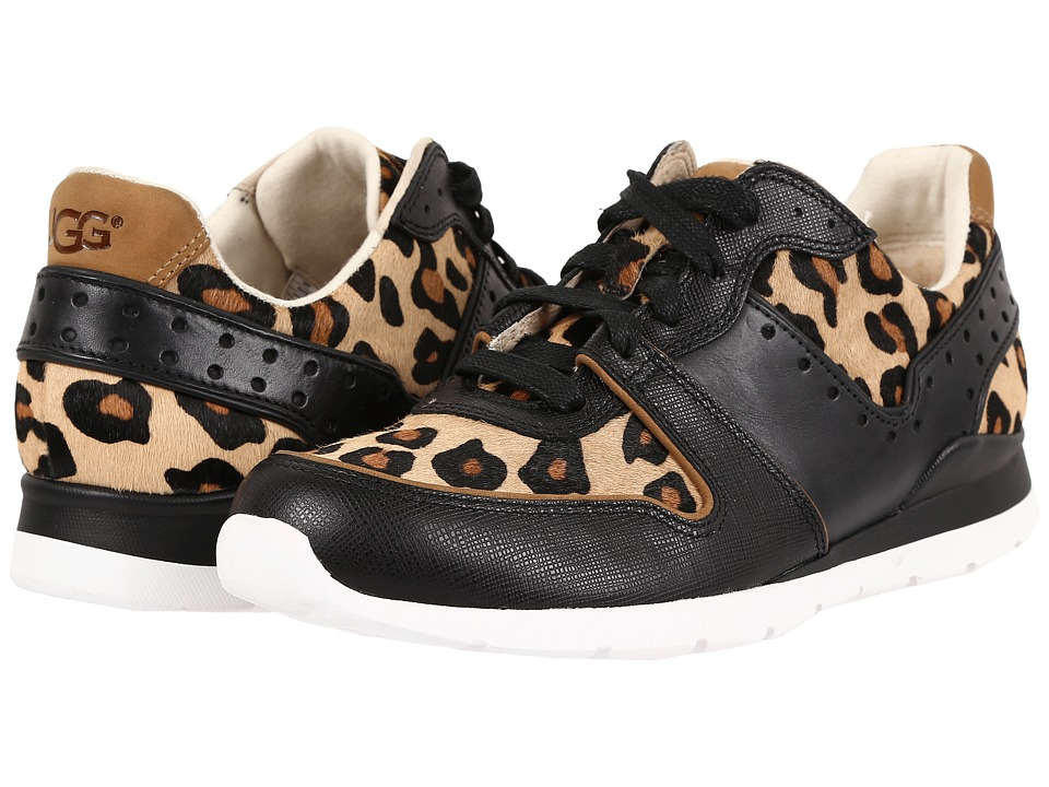 UGG - Deaven Calf Hair Leopard (Chestnut Leopard) Women's Lace up casual Shoes
