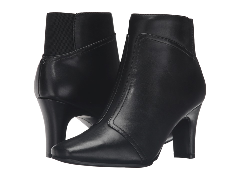 Bandolino - Havyn (Black Leather) Women's Shoes