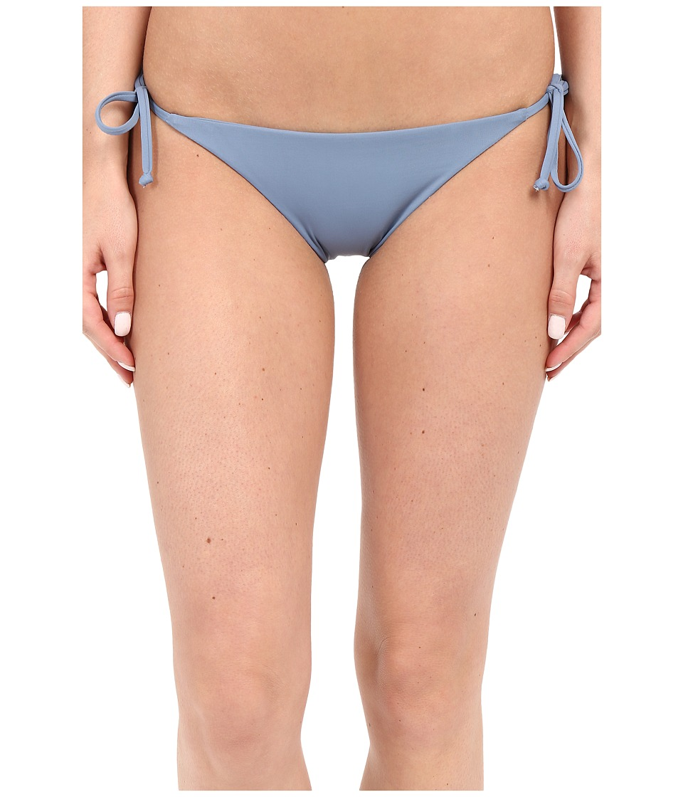 BECCA by Rebecca Virtue Color Code Tie Side Bottom (Steel) Women