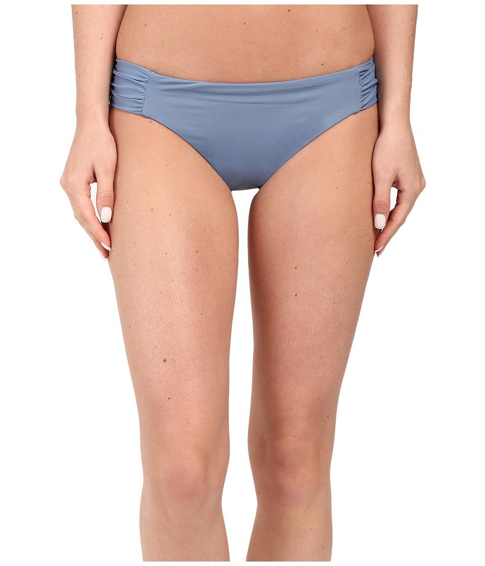 BECCA by Rebecca Virtue - Color Code Tab American Bottom (Steel) Women's Swimwear