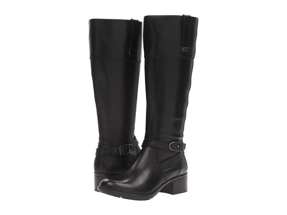 Bandolino - Baya Wide Calf (Black Leather) Women's Boots