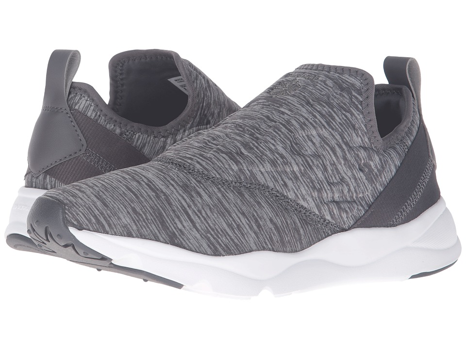 Reebok Lifestyle - Furylite Slip-On Jersey (Ash Grey/White) Women's Shoes