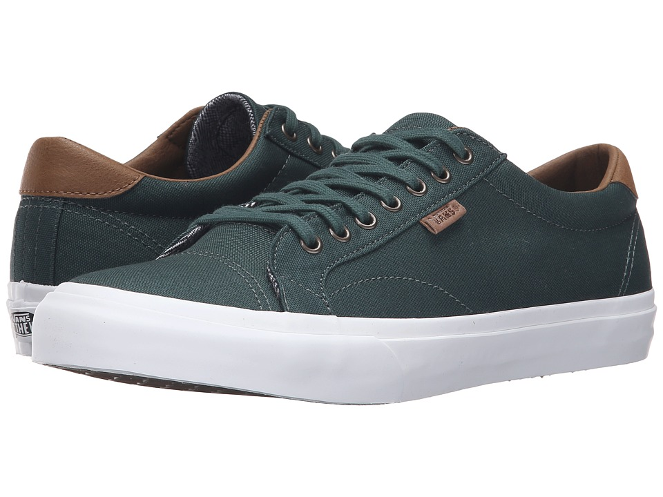 Vans - Court ((C&L) Green Gables/True White 2) Men's Skate Shoes