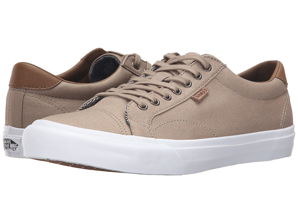 Vans - Court ((C&L) Silver Mink/True White 2) Men's Skate Shoes
