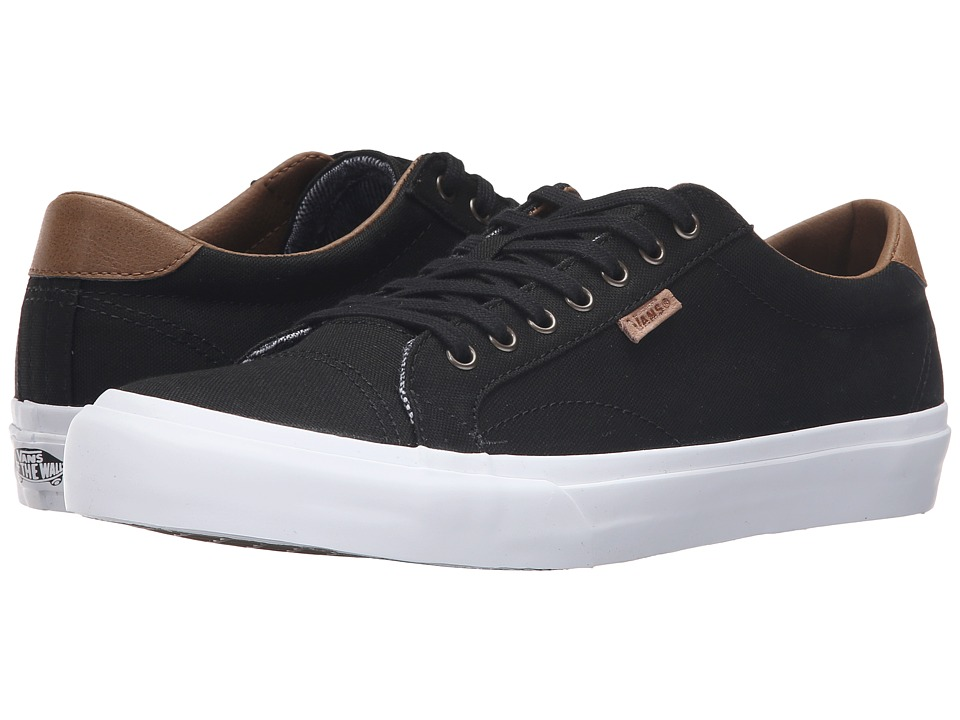 Vans - Court ((C&L) Black/True White 2) Men's Skate Shoes