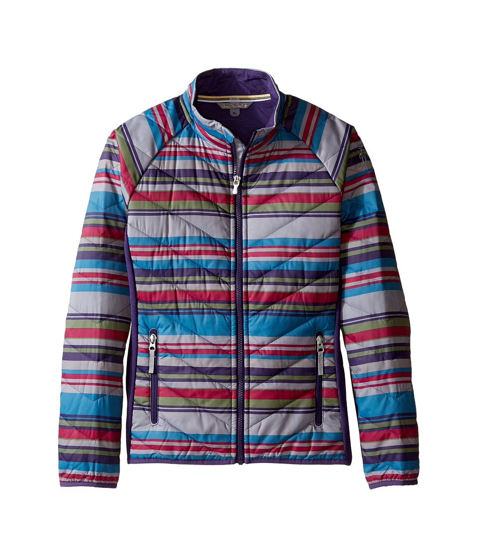 Smartwool - SmartLoft Printed Double Corbet 120 Jacket (Little Kids/Big Kids) (Multi Stripe) Women's Coat