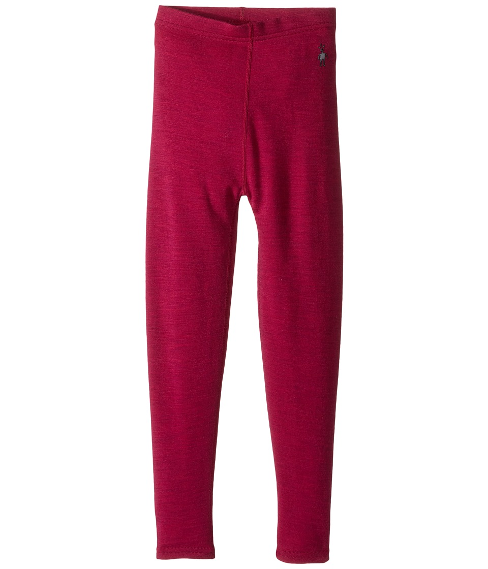 Smartwool - Mid 250 Bottom (Little Kids/Big Kids) (Berry Heather) Casual Pants