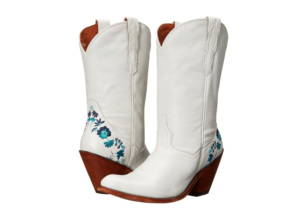 Dan Post - Bliss (White) Women's Pull-on Boots