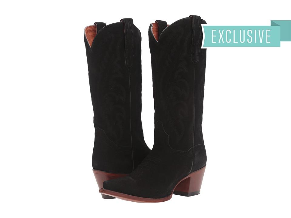 Dan Post - Audrey (Black) Women's Pull-on Boots