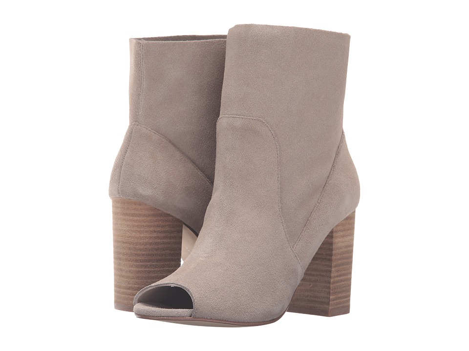 Chinese Laundry - Tom Girl (Taupe Split Suede) Women's Pull-on Boots