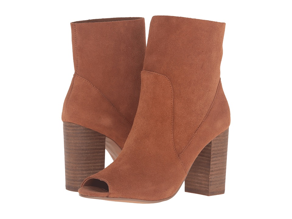 Chinese Laundry - Tom Girl (Whiskey Split Suede) Women's Pull-on Boots