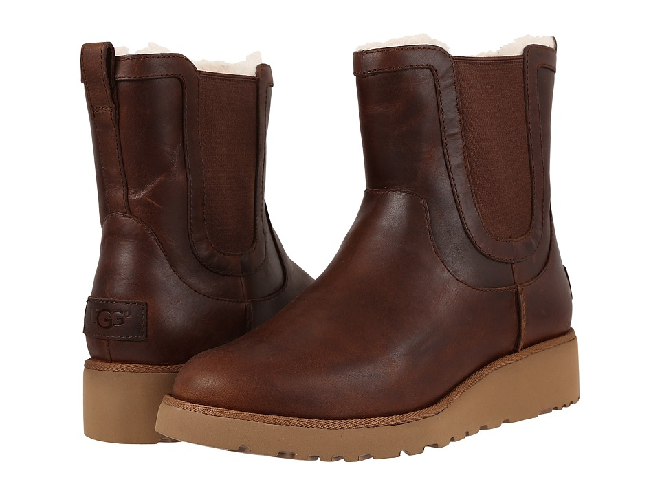 UGG Britt Leather (Chestnut) Women