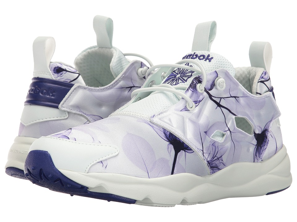 Reebok Lifestyle - Furylite Slip-On Jersey (Floral/Opal/Pigment Purple/Lucid Lilac) Women's Shoes
