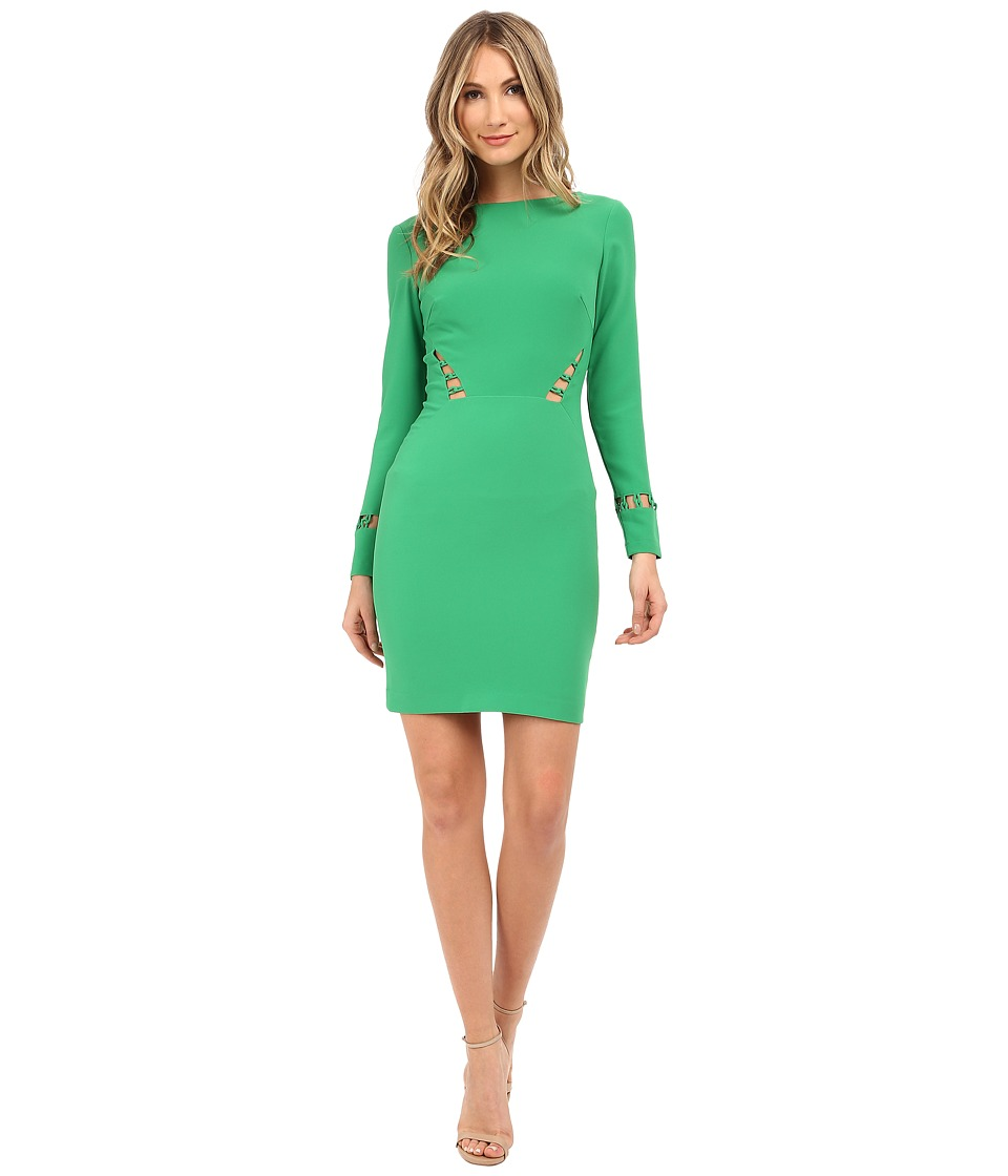 Nicole Miller Lane Loop Dress (Paradise Green) Women