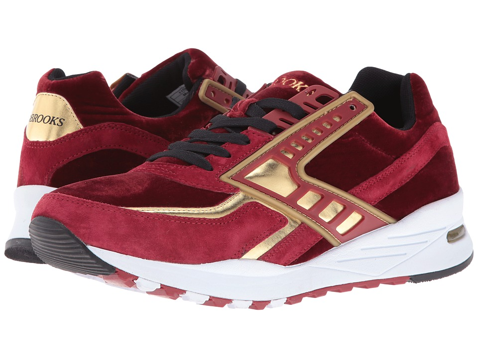 Brooks Heritage - Regent (Red Dahlia/Gold Chrome) Men's Running Shoes