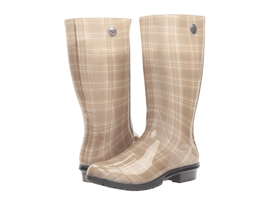 UGG - Shaye Plaid (Cream) Women's Boots