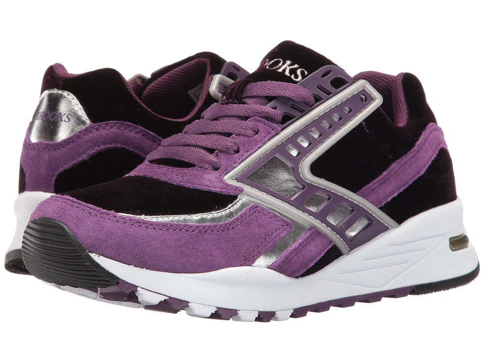 Brooks Heritage - Regent (Deep Purple/Silver Chrome) Women's Running Shoes