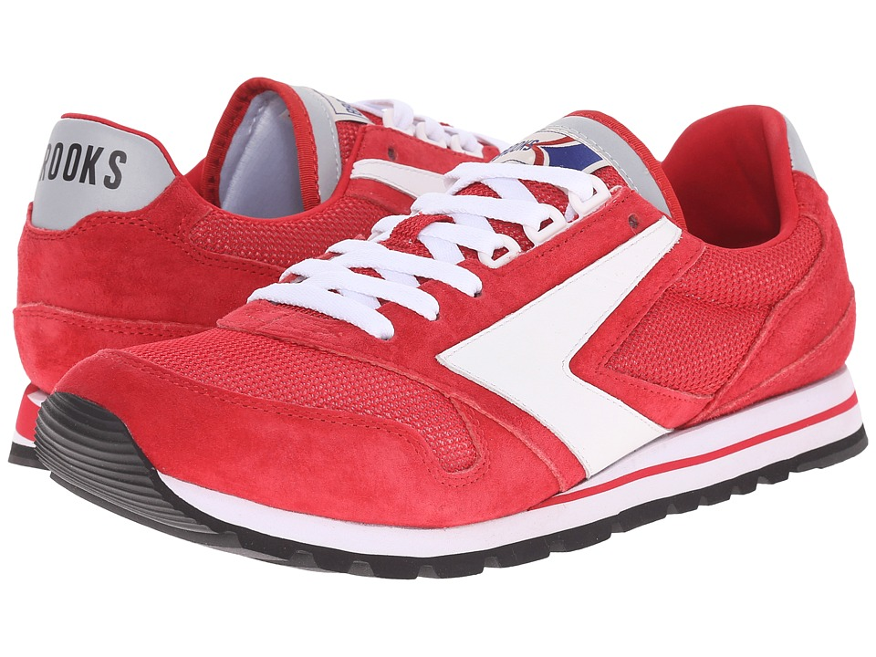 Brooks Heritage - Chariot (True Red/White) Men's Shoes